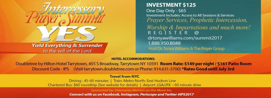 Intercessory Prayer Summit